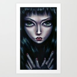 Queen of This Sideways Town - Queen of the Underground Art Print