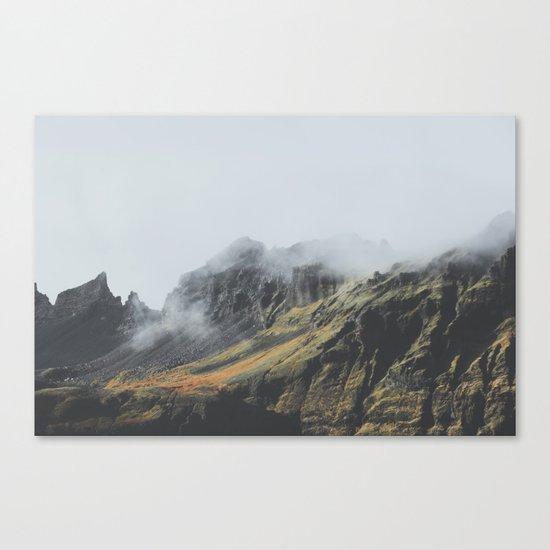 Grundarfjörður, Iceland Canvas Print