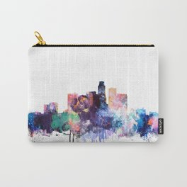 Los Angeles Watercolor Skyline Carry-All Pouch