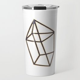 Golden gemstone Travel Mug