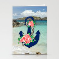 anchors Stationery Cards featuring Anchors by Bri Delasole
