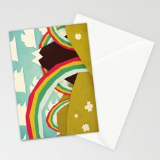 Happy happy joy joy! Stationery Cards