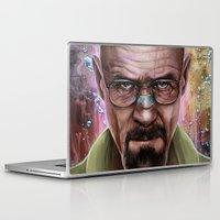 heisenberg Laptop & iPad Skins featuring Heisenberg by Isabella Morawetz