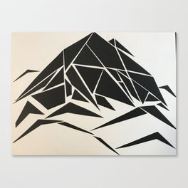 When Mountains Move - A Canvas Print