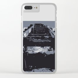 A mythical way to the sea Clear iPhone Case