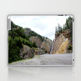 Drive Around the Curve onto a Shelf Above the Spectacular, but Frightening, Uncompahgre Gorge Laptop & iPad Skin
