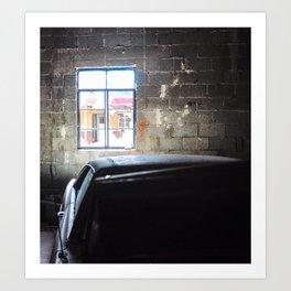 In the Garage Art Print