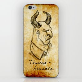 Wesen Series: Taurus Armanta iPhone Skin