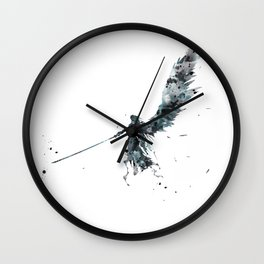 Final Fantasy Watercolor Wall Clock