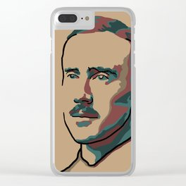 J.R.R. Tolkien Clear iPhone Case