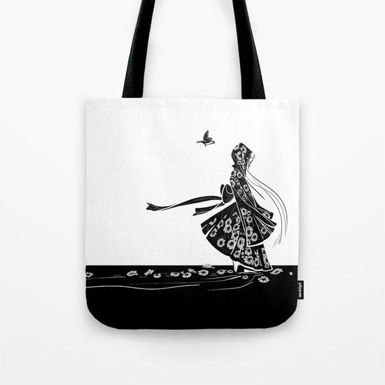 Daisy Girl Tote Bag