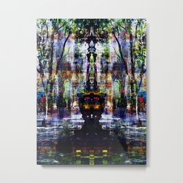 Bewilderment orchestration, reconsidered normality. Metal Print