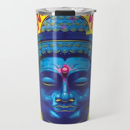Psychedelic Buddha  Travel Mug