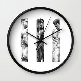 NOODDOOD Strips 1-3 Wall Clock