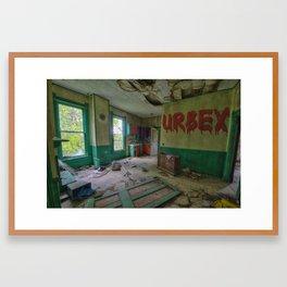 Urban Exploration Framed Art Print
