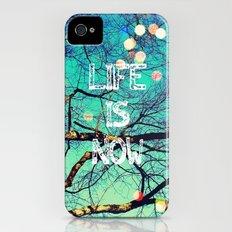 Life Is Now iPhone (4, 4s) Slim Case