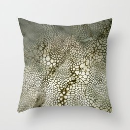 Animal print artificial Throw Pillow