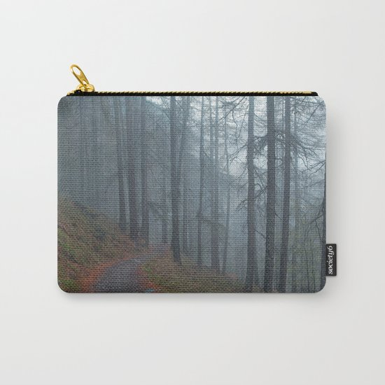 Forest vibes #foggy Carry-All Pouch