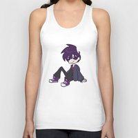 randy c Tank Tops featuring randy boy by nubbybub