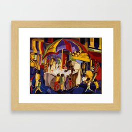 Ices by Jacob Lawrence African American Masterpiece Framed Art Print