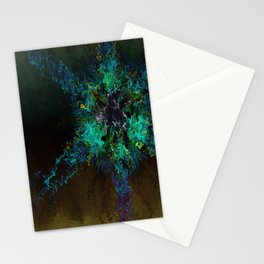 Alien Rose Stationery Cards