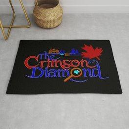 The Crimson Diamond colour logo Rug