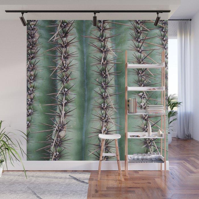 Cactus Abstractus Wall Mural