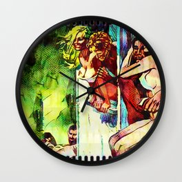 Film Strip Wall Clock