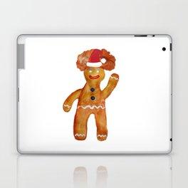 Santa Gingerbread Man Laptop & iPad Skin