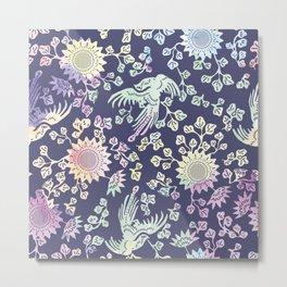 traditional chinese bird ornamnet Metal Print