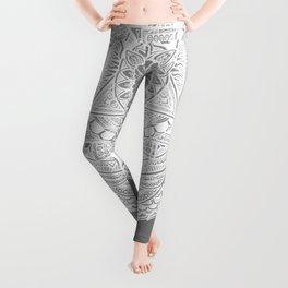 Metamorphic (gray) Leggings