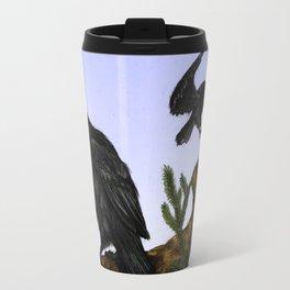 Huginn and Muninn Travel Mug