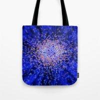 big bang Tote Bags featuring Big bang by Digital Dreams