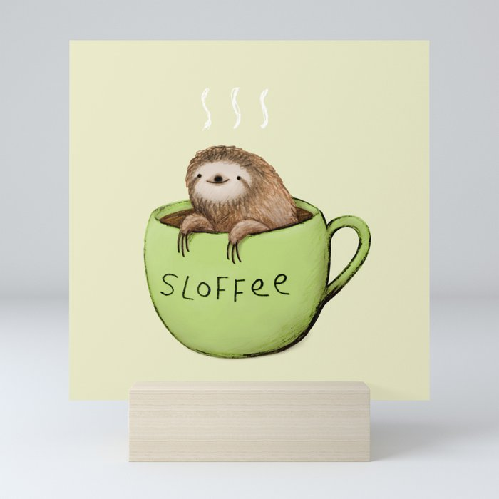 Sloffee Mini Art Print