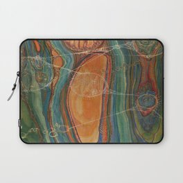 Lively Synapses (Amplified Current) Laptop Sleeve