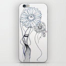 Flower Hair iPhone Skin
