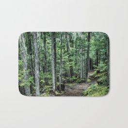Nature Landscape Forest Trail Bath Mat