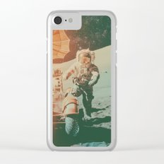 Project Apollo - 11 Clear iPhone Case