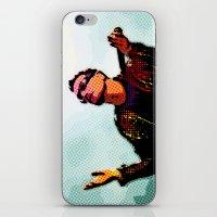 u2 iPhone & iPod Skins featuring U2 / Bono 2 by JR van Kampen