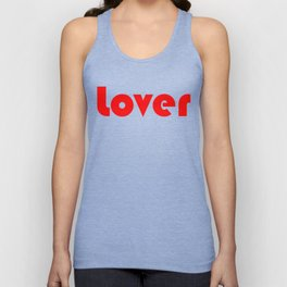 Red Lover Unisex Tank Top