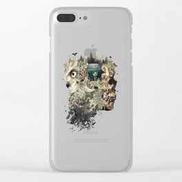 Forest Lake Dreams Clear iPhone Case