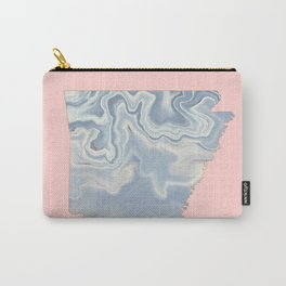 Arkansas map Carry-All Pouch