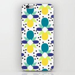 Geo Print - Turq iPhone Skin