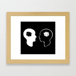 Games People Play Framed Art Print