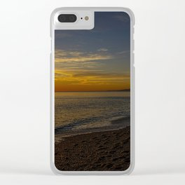Sunset at West Bay 3 Clear iPhone Case