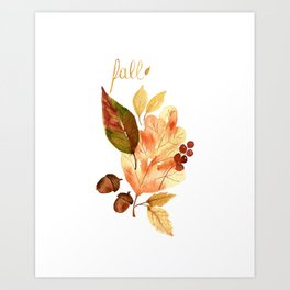 """""""Fall""""ing For You Art Print"""