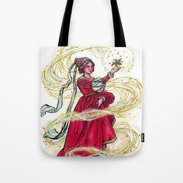 Spirit of the Holly Days Tote Bag