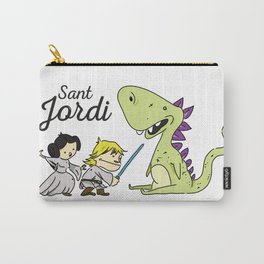 Sant Jordi knight Carry-All Pouch