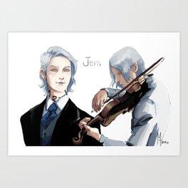 Soulmates - Jem Art Print