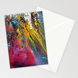 silent chaos Stationery Cards
